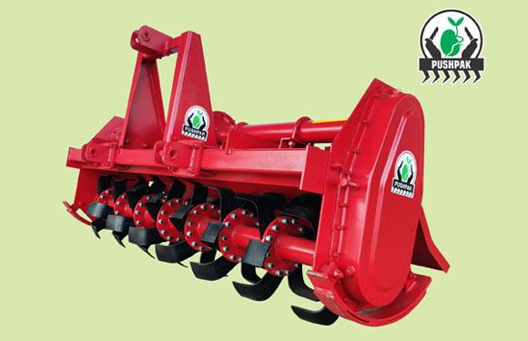 Rotavator - Rotary Tiller : Pushpak Rooter