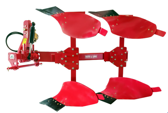 Pushpak Super Hydraulic Reversible Plough
